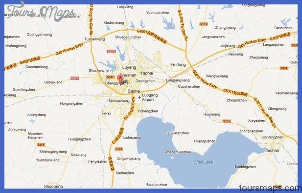 hefei map  0 Hefei Map