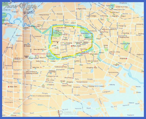 hefei map  2 Hefei Map