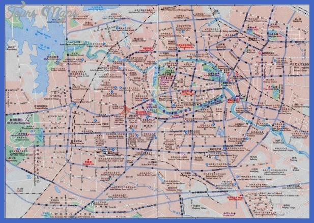 hefei map  4 Hefei Map