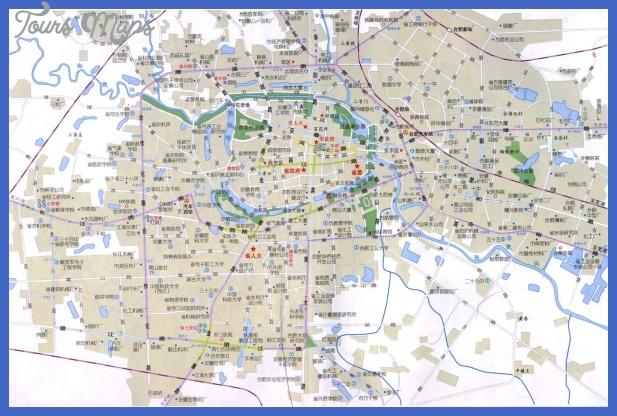 hefei map  7 Hefei Map