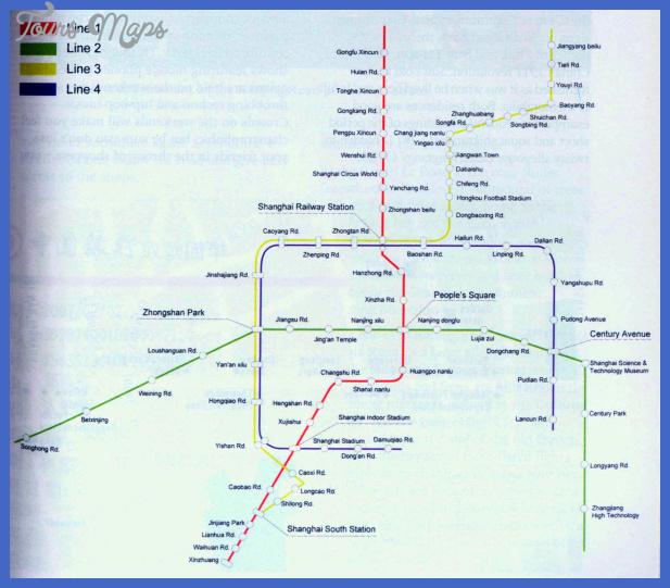 hefei subway map  1 Hefei Subway Map