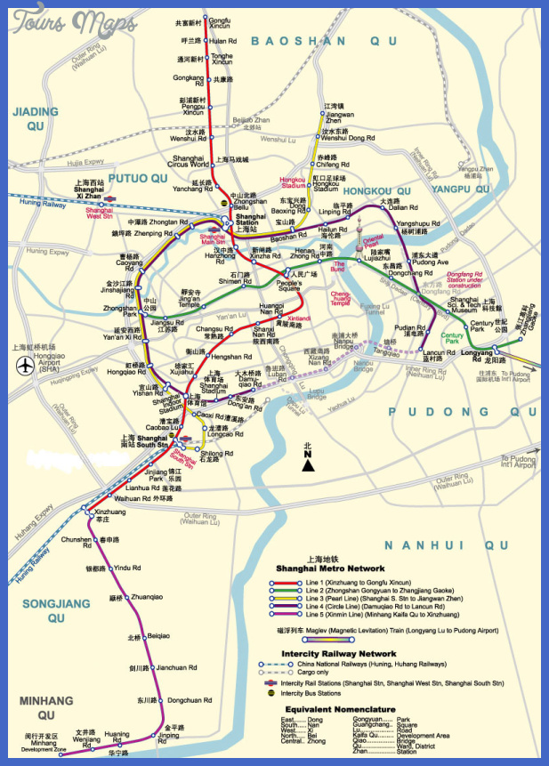 hefei subway map  5 Hefei Subway Map