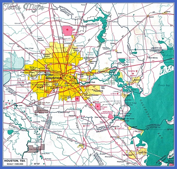 houston map 0 1 Lubbock Metro Map