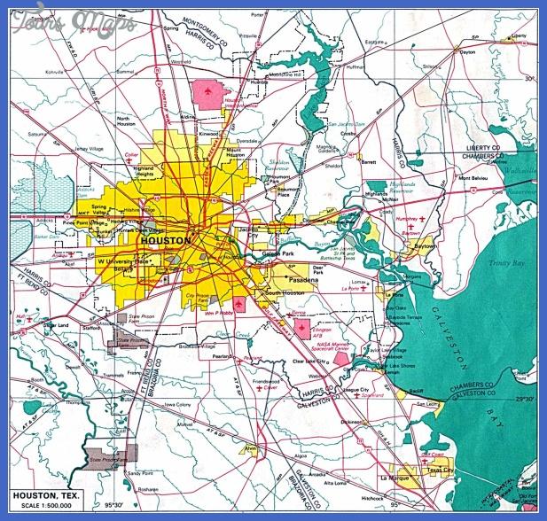 houston map 0 Houston Map
