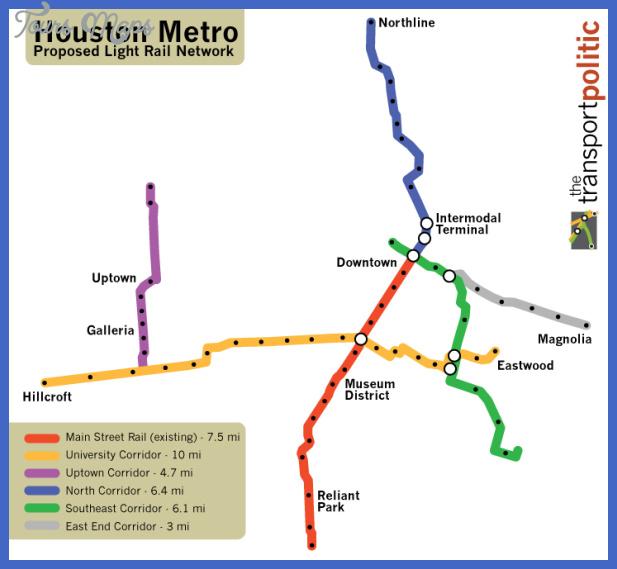houston subway map  0 Houston Subway Map