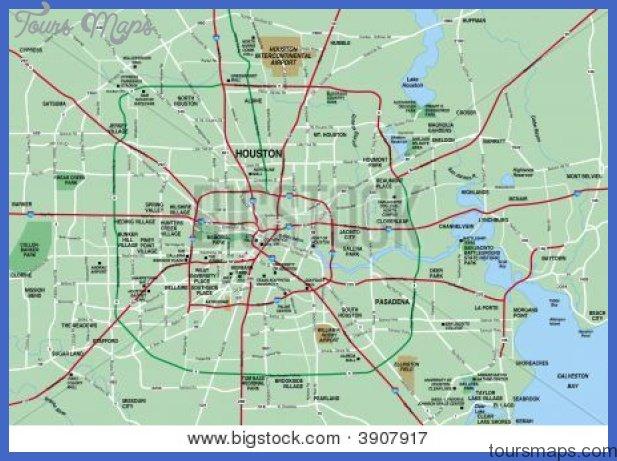 houston metropolitan area map showing major roads cg3p907917c Houston Metro Map