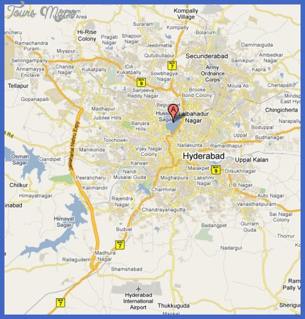 hyd overview Hyderabad Map