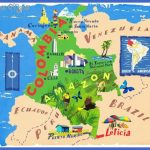 illustratedmapofcolombia 150x150 Colombia Map