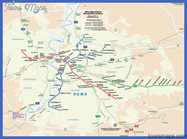 Pdf Map Of Italy.Rome Metro Map Pdf Archives Toursmaps Com