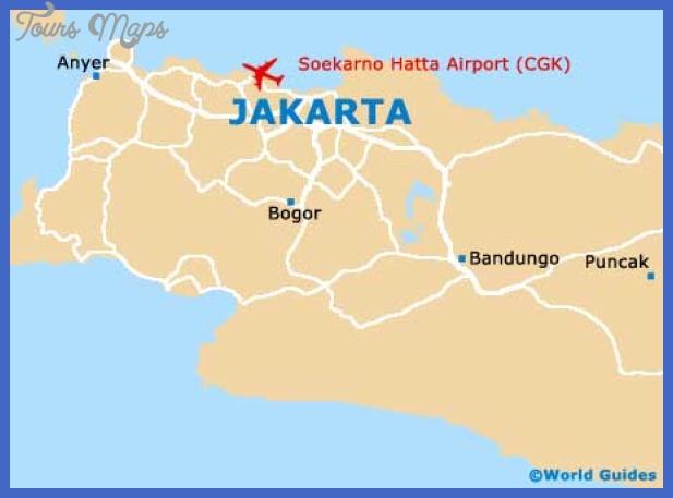 Jakarta Metro Map - ToursMaps.com ®