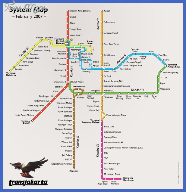 jakarta metro map  4 Jakarta Metro Map