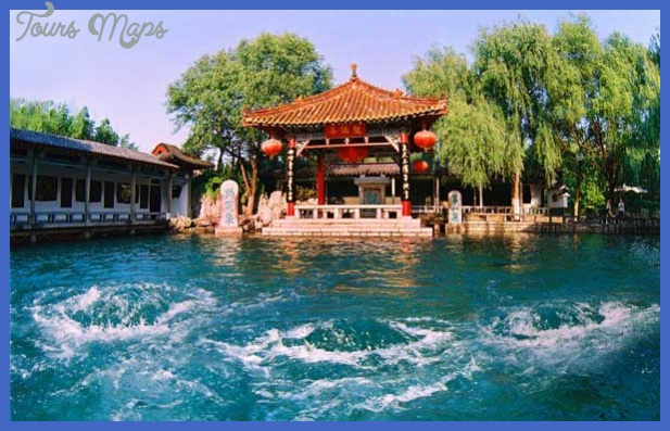 jinan map tourist attractions  6 Jinan Map Tourist Attractions