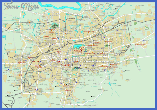 jinan map tourist attractions  7 Jinan Map Tourist Attractions