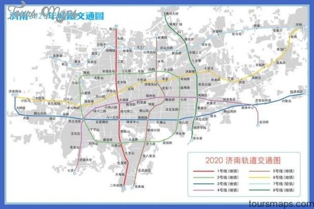 jinan metro map  0 Jinan Metro Map