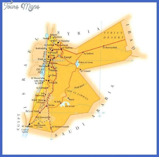 jordan map  11 Jordan Map
