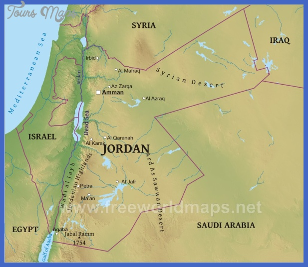 jordan map physical Jordan Map