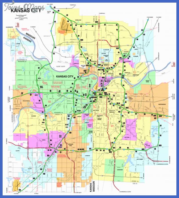 kansas city map  3 Kansas City Map
