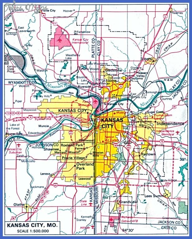 kansas city metro map  0 Kansas City Metro Map