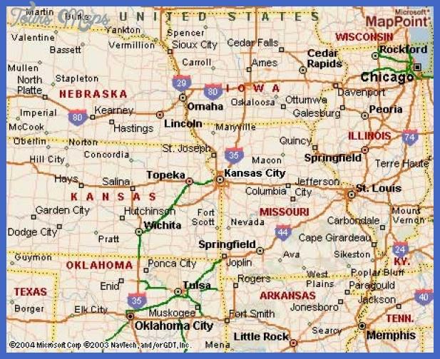 kansascityks Kansas City Map