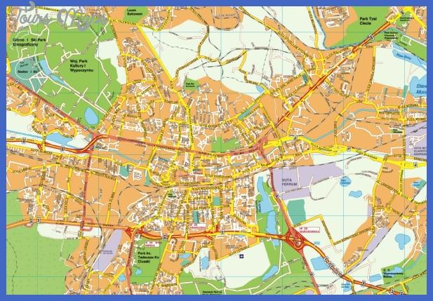 katowice map Katowice Map