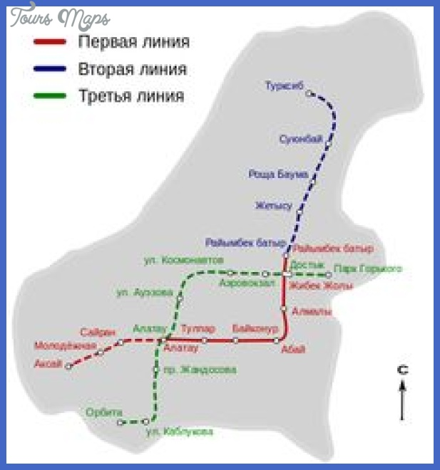 kazakhstan metro map  0 Kazakhstan Metro Map