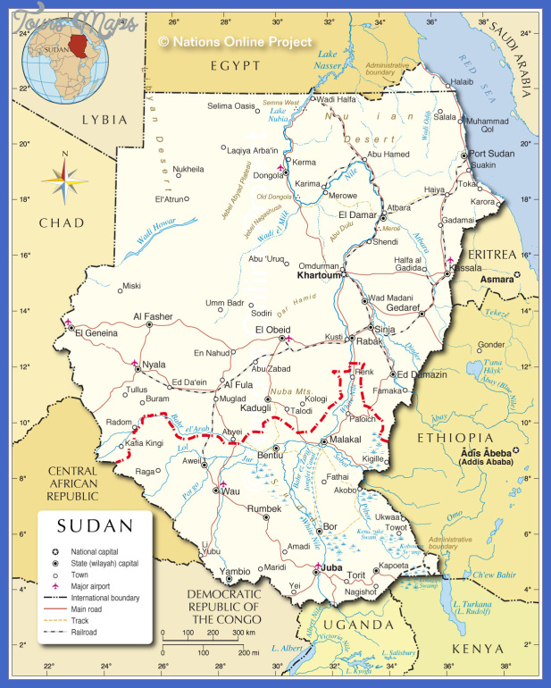 khartoum map  9 Khartoum Map