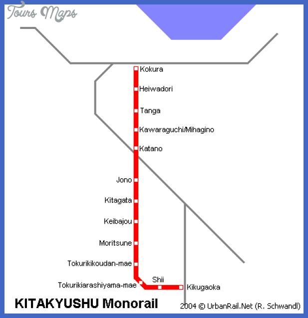 kitakyushu Algeria Subway Map