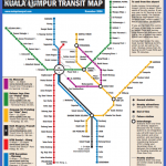 klcityguide kuala lumpur train lrt map 150x150 Kuala Lumpur Metro Map