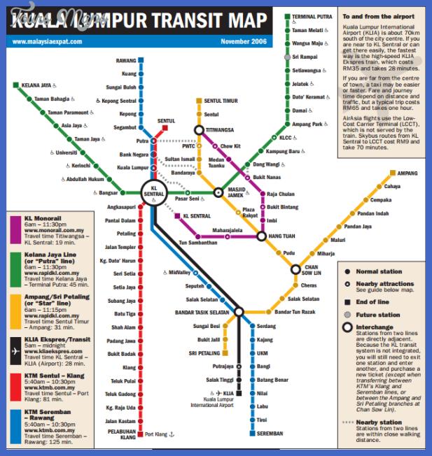 Kuala Lumpur Subway Map Pdf.Kuala Lumpur Metro Map Toursmaps Com