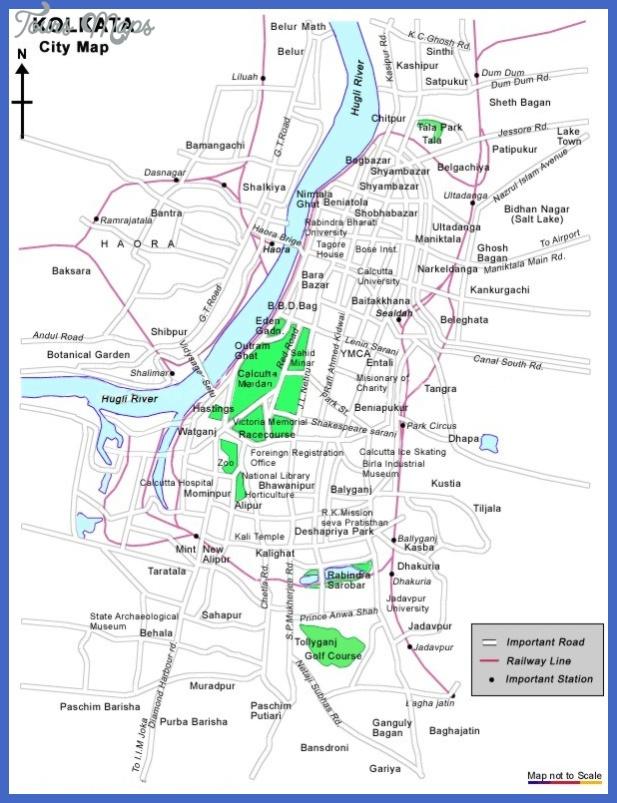 kolkata map  18 Kolkata Map