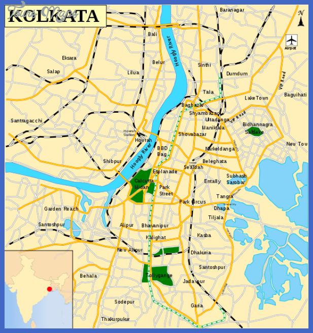 kolkata map  22 Kolkata Map