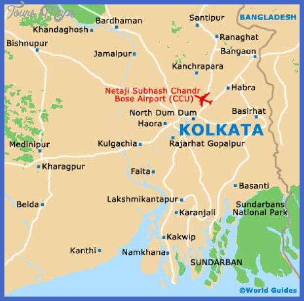 kolkata map Kolkata Map