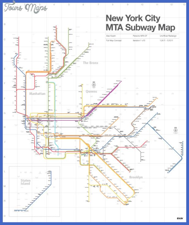 koplin nyc subway map r3 v1 lines only reg Long Beach Subway Map