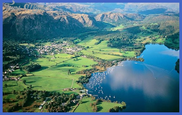 lake district uk Best country to visit in January
