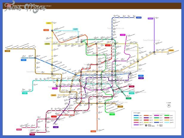 lanzhou metro map  2 Lanzhou Metro Map