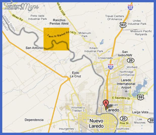 laredomap Laredo Metro Map