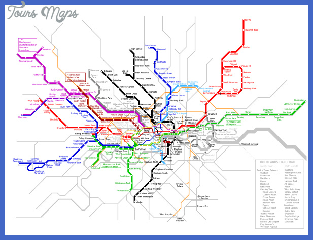 large detailed london metro map United Kingdom Metro Map