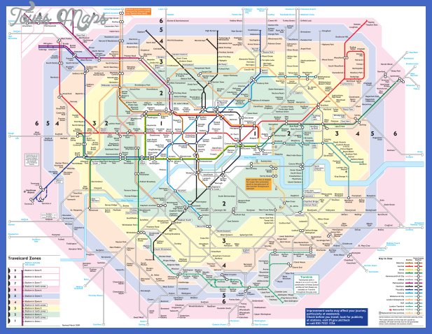 large detailed metro map of london city United Kingdom Metro Map