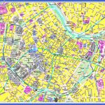 large detailed tourist map of vienna city center for free 150x150 Vienna Map