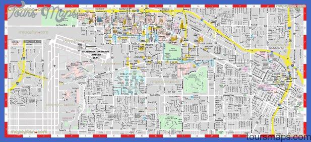 las vegas map tourist attractions  1 Las Vegas Map Tourist Attractions