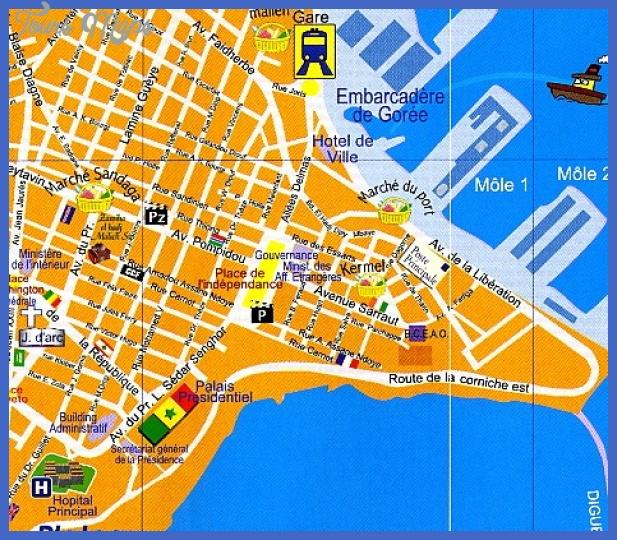 laurekane dakar 0002 Kinshasa Map Tourist Attractions