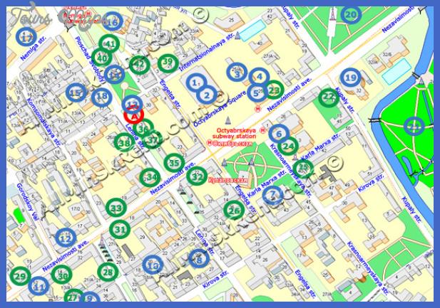 lenina thumb Belarus Map Tourist Attractions