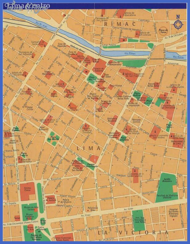 lima metro map  3 Lima Metro Map