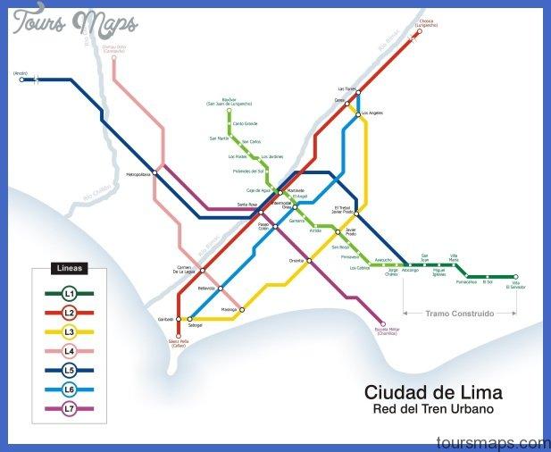 lima metro map Lima Metro Map