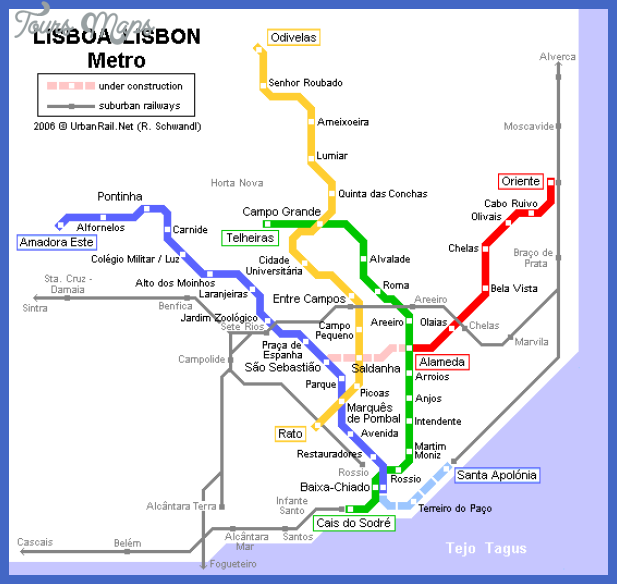 Lisbon Metro Map Pdf Archives Map Travel Holiday Vacations - Sweden metro map pdf