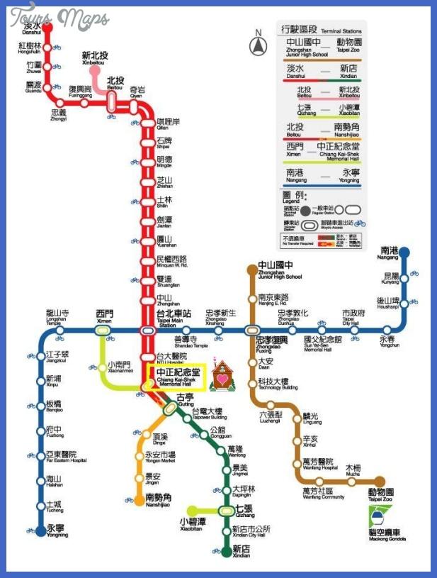 living in taipei metro map Taipei Metro Map