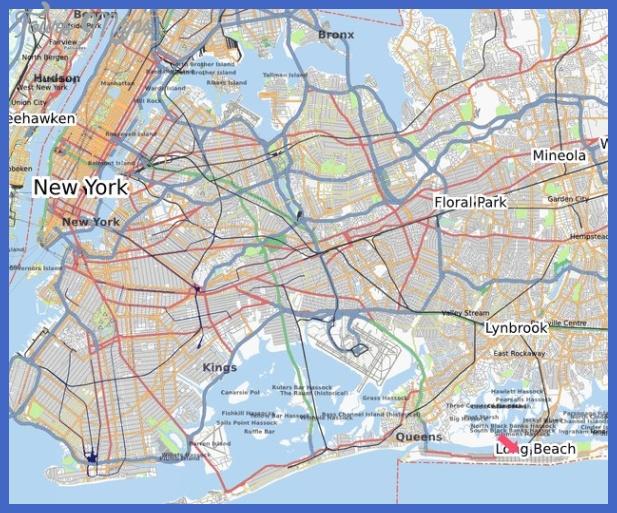 long beach subway map  4 Long Beach Subway Map
