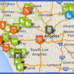 los angeles points of interest map 150x150 Los Angeles Map Tourist Attractions