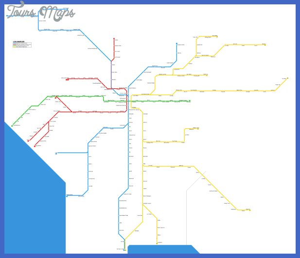 los angeles subway map pdf