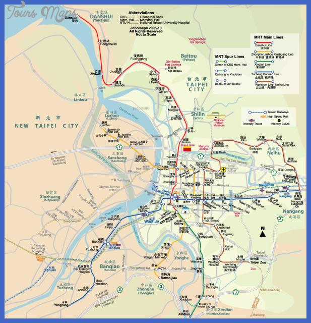 m taipeimetro 1 Taipei Metro Map